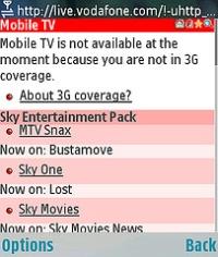 No 3G coverage