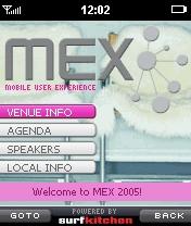 MEX homepage