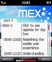 MEX Agenda