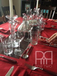 table scapes place settings thanksgiving