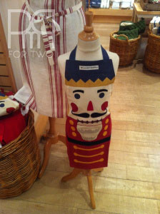 williams and sonoma child nutcracker apron