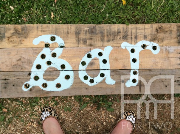 DIY marquee lights sign 3