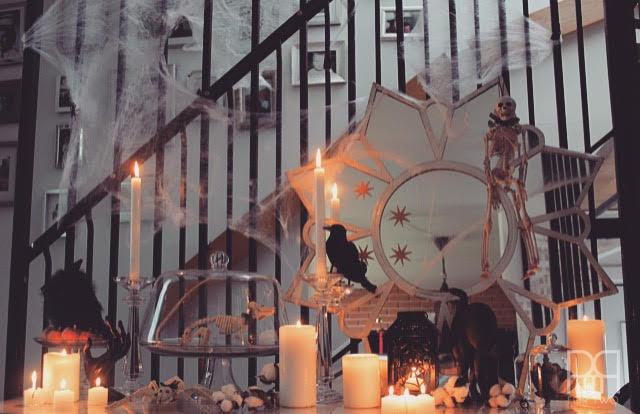 halloween entryway decor 8