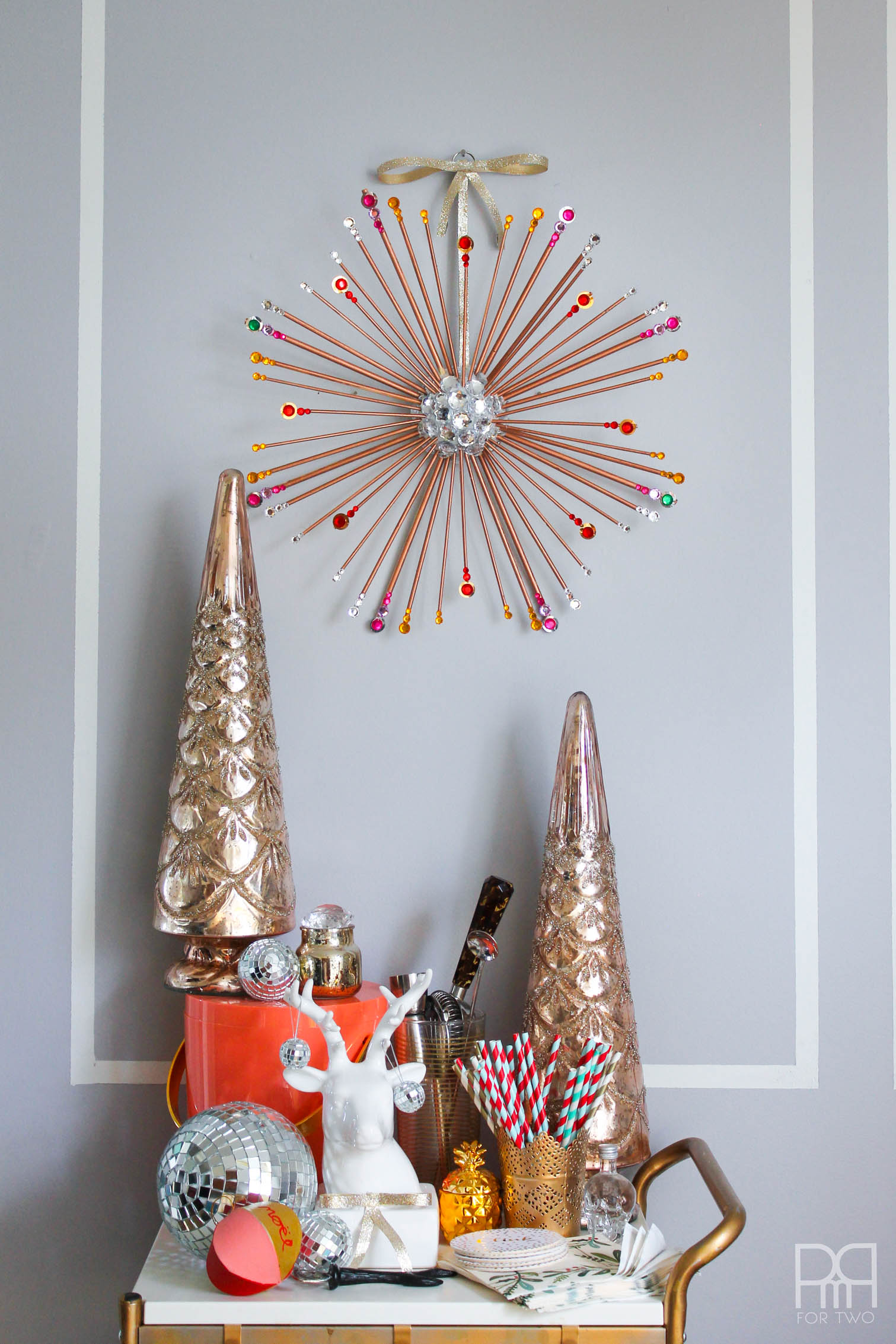 DIY Starburst Wreath