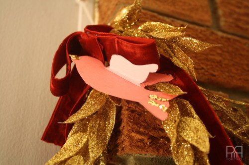 DIY glitter bird garland 8