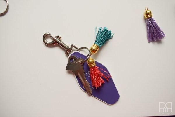 tassel keychain 10