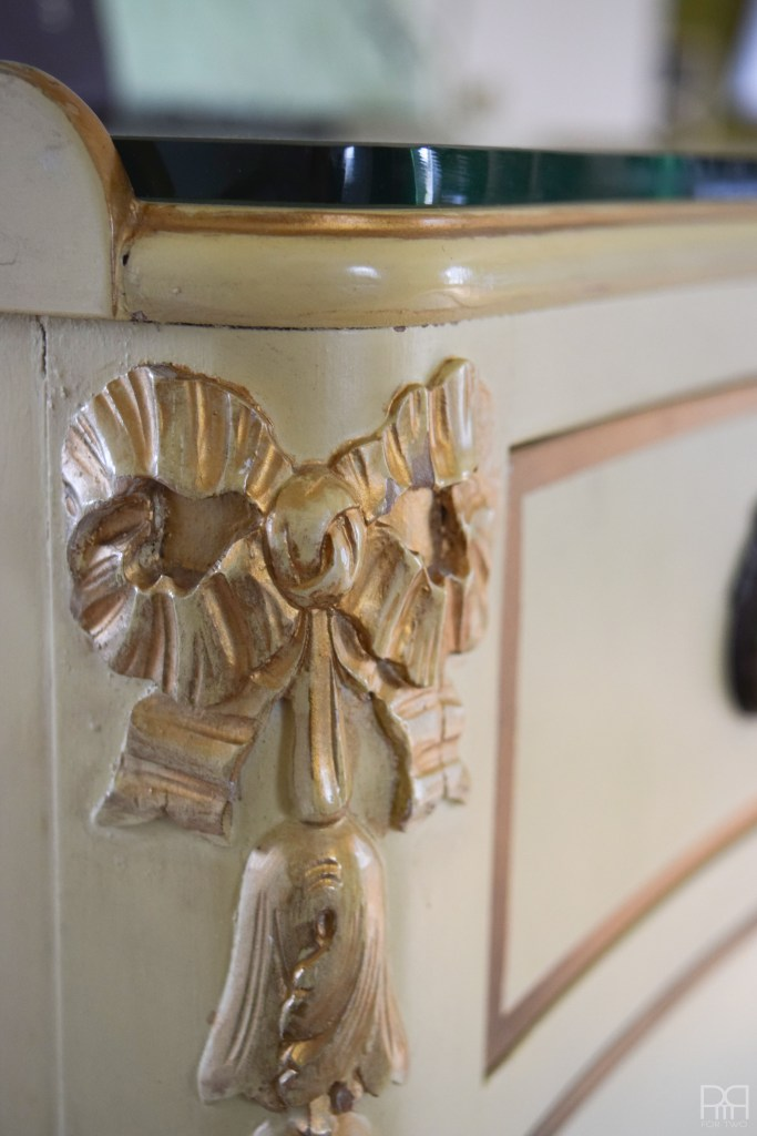 detail on cabinet