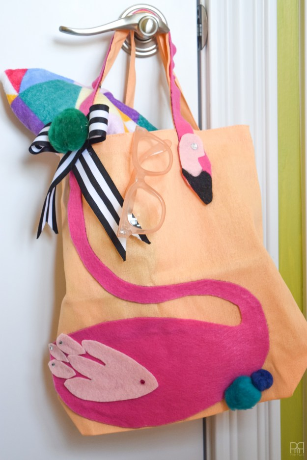 Felt Flamingo Bag 6