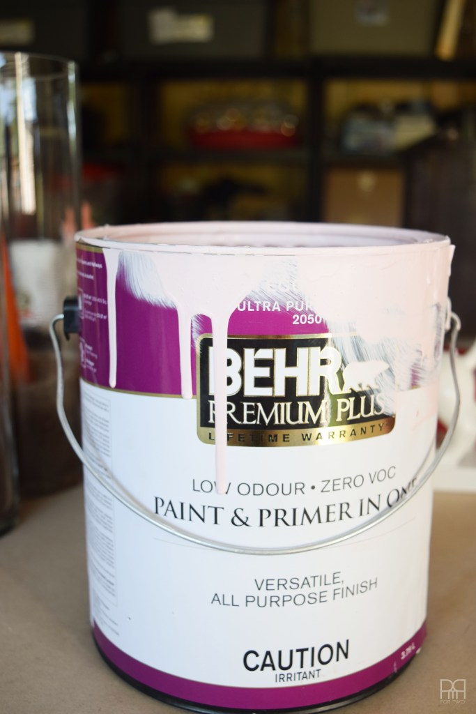 Painting Patio Umbrella paint can