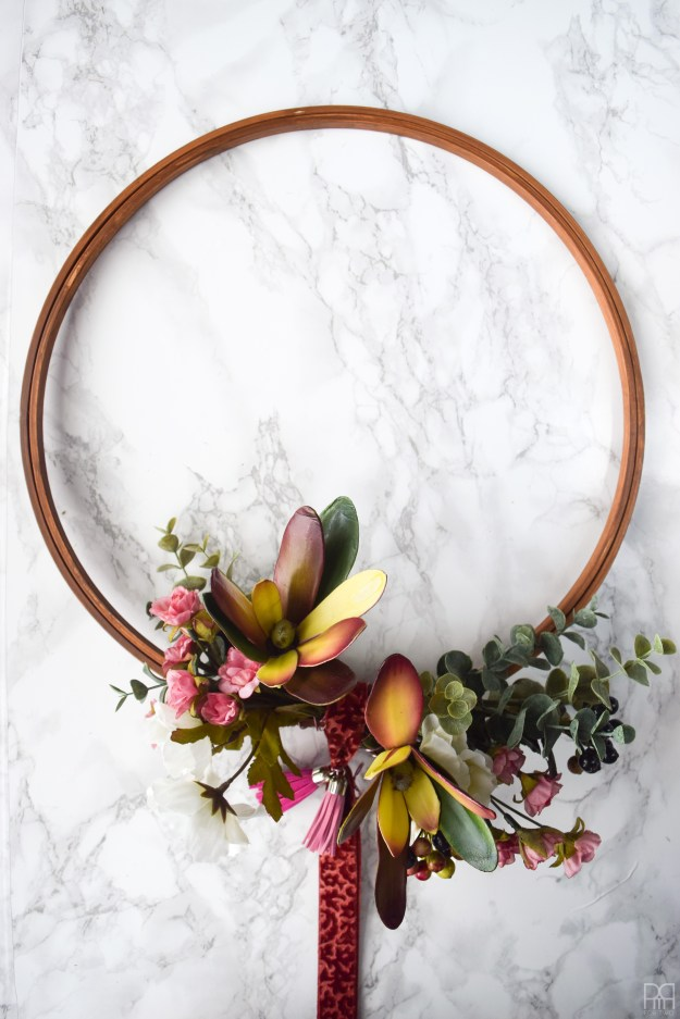 Modern & Moody fall wreath