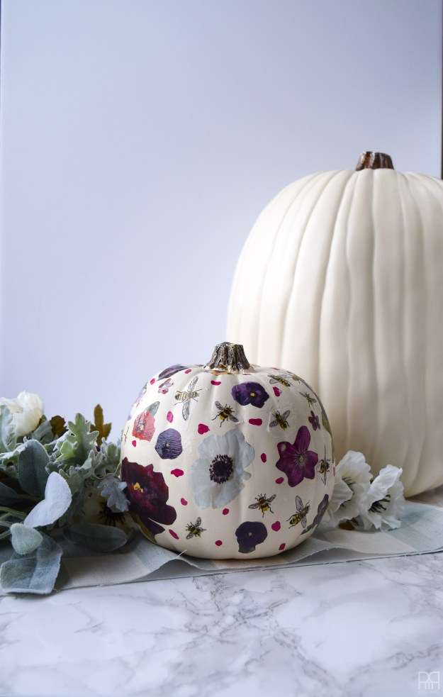 Decoupage Pumpkin 19