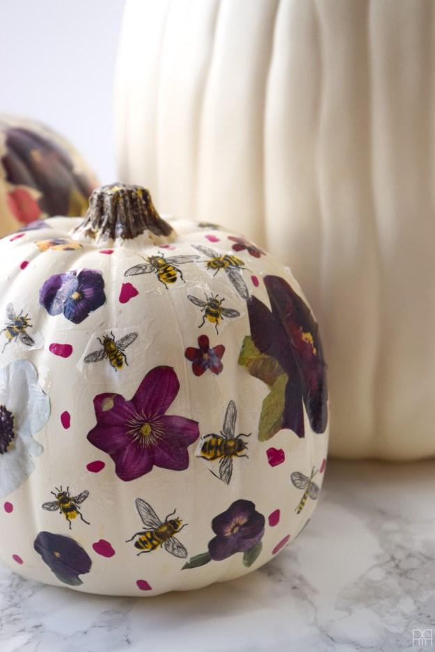 Decoupage Pumpkins 11