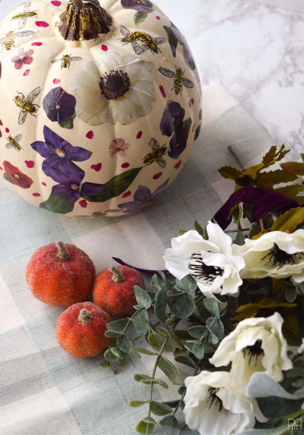 Decoupage Pumpkins 19