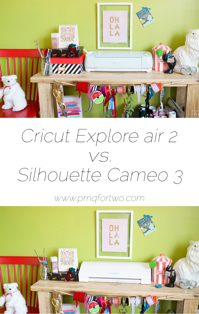 I got the chance to test drive the Explore Air 2 and the Cameo 3 - which one do you think came out on top? Stop by to see the pros and cons. PMQ For Two