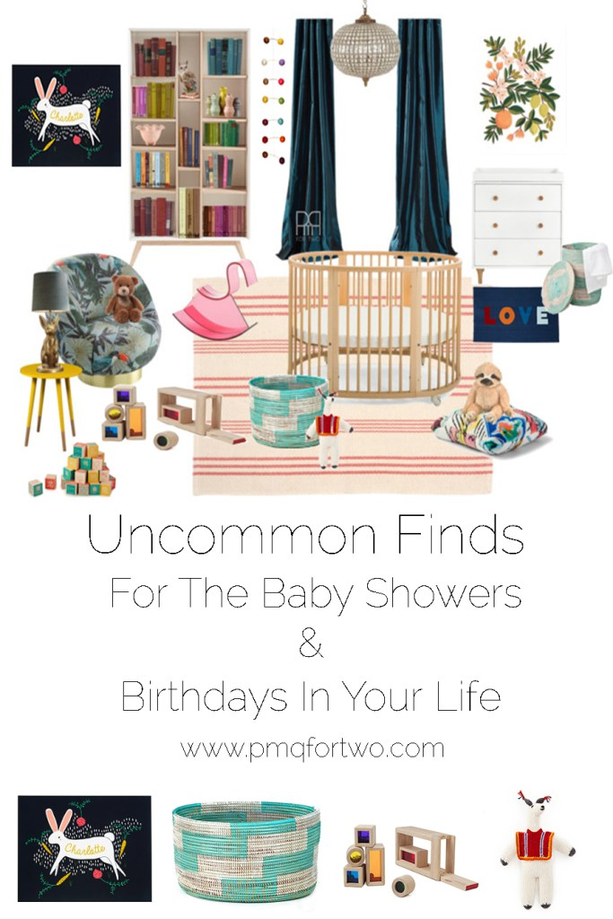 Uncommon Finds For The Baby Showers & Birthdays In Your Life