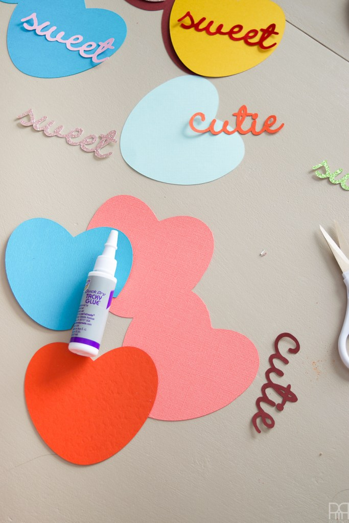 Candy Heart Valentine\'s Day Cards • PMQ for two