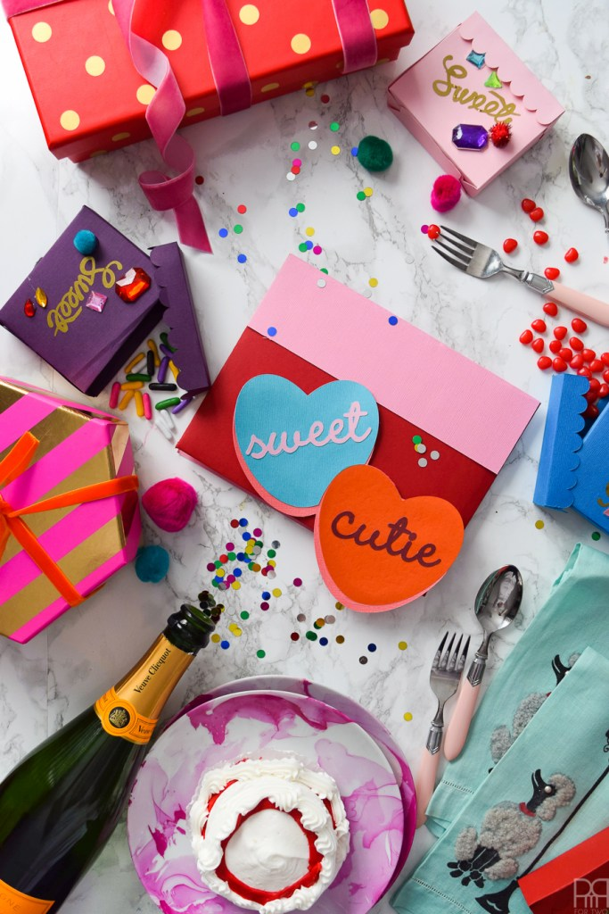 Candy Heart Valentine S Day Cards Pmq For Two