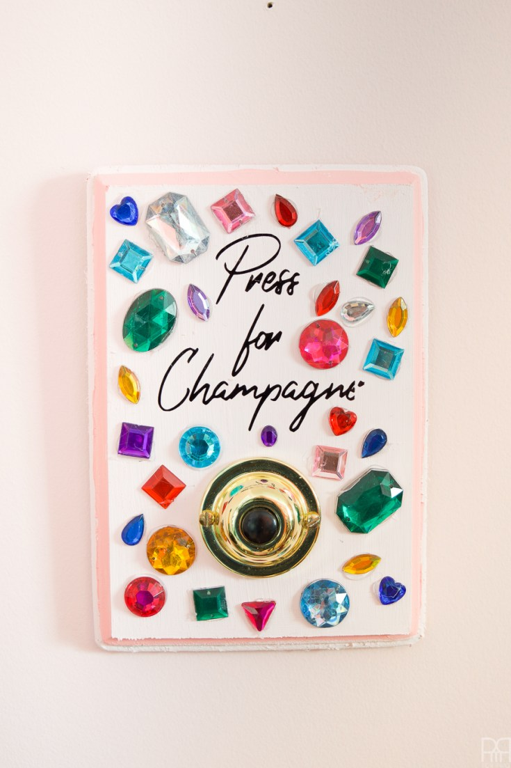 DIY Champagne Buzzer - TGIF