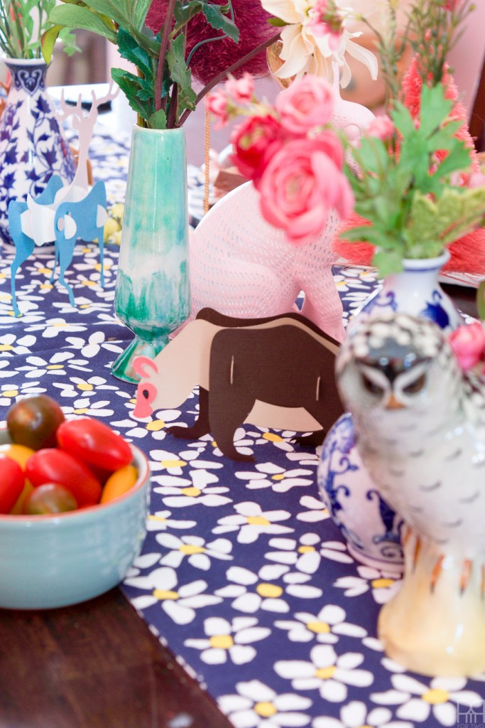 Create everything you need for a colourful woodland critter baby shower using your Cricut, silk flowers from Afloral and friends. Cupcakes and mother-to-be not included!