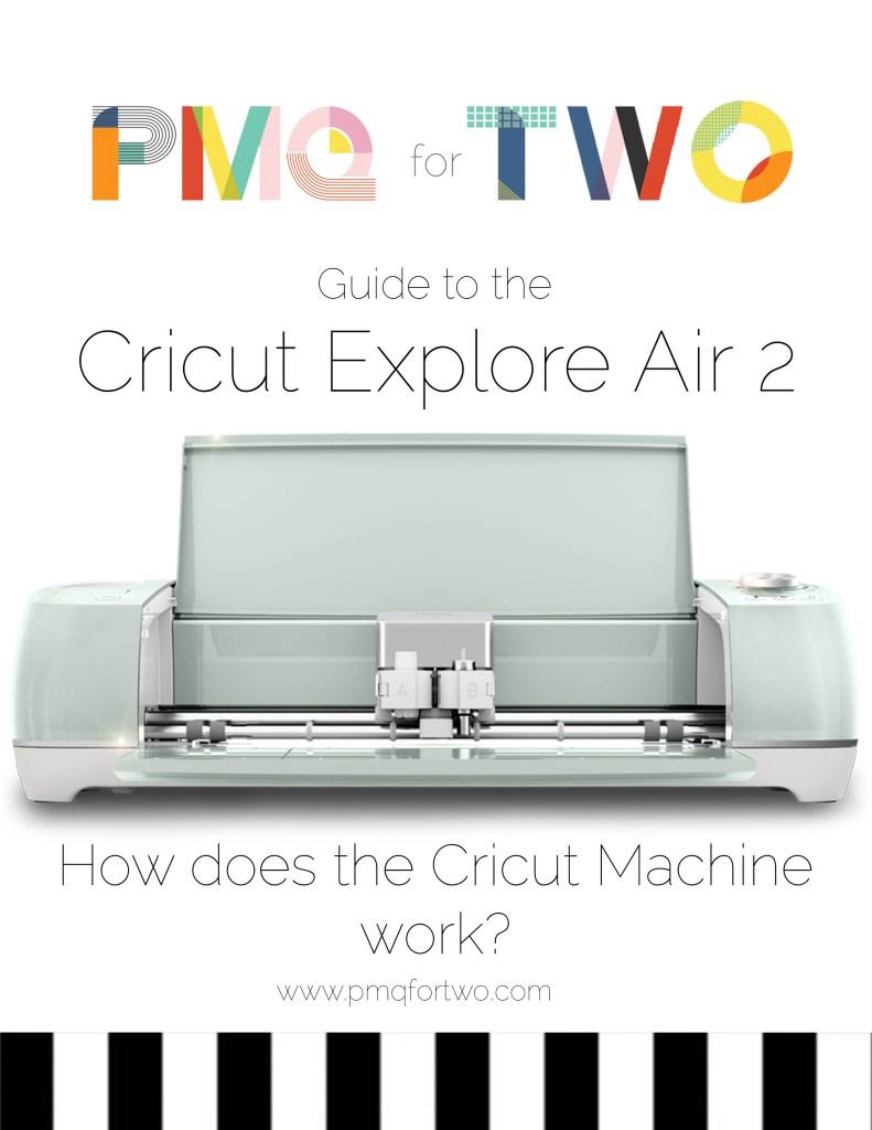 How The Cricut Machine Works pin image