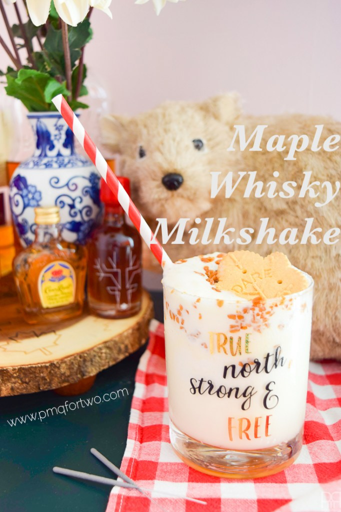 This summer try a Maple Whisky Milkshake to ease your guests into the evening or to cool off after a long day. Maple syrup & whisky make this a fan favourite.