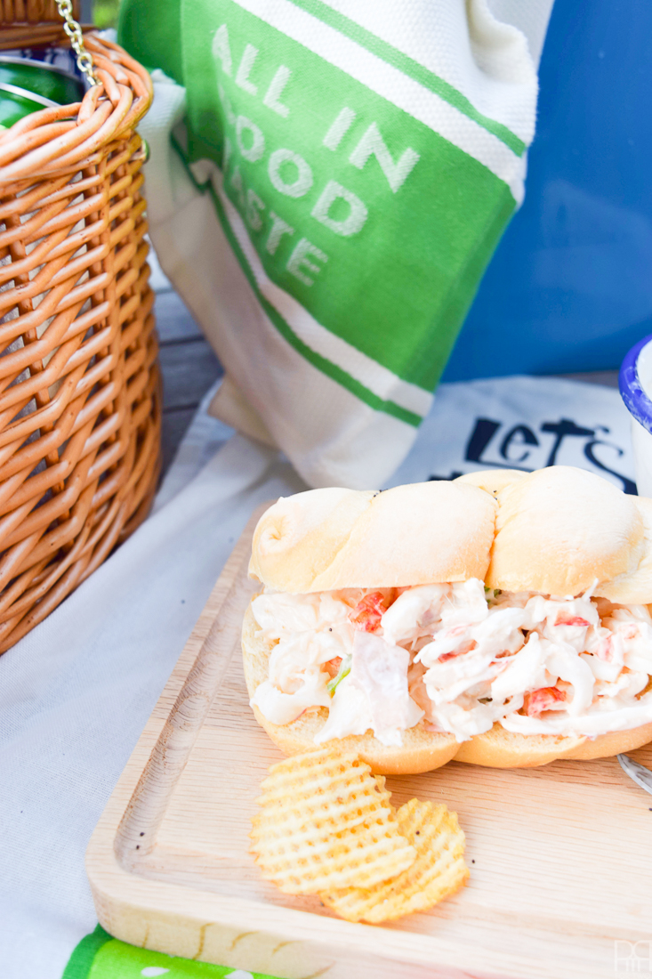 Balcony Picnic Lobster Rolls
