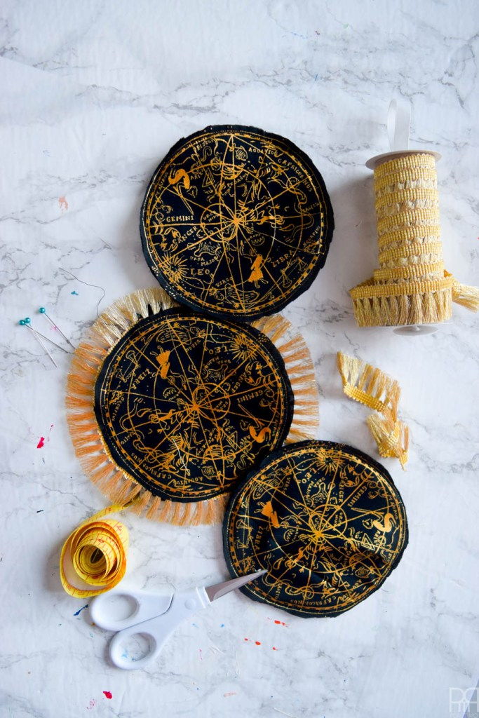 DIY Astrology Coasters & A Skeleton Bar Towel