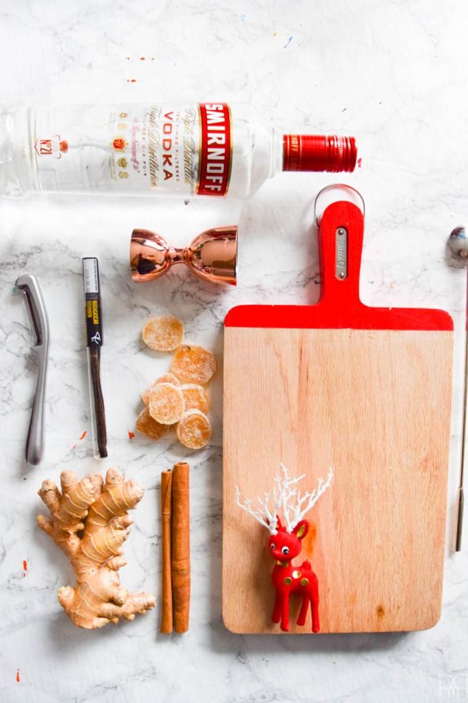 DIY Gingerbread Vodka