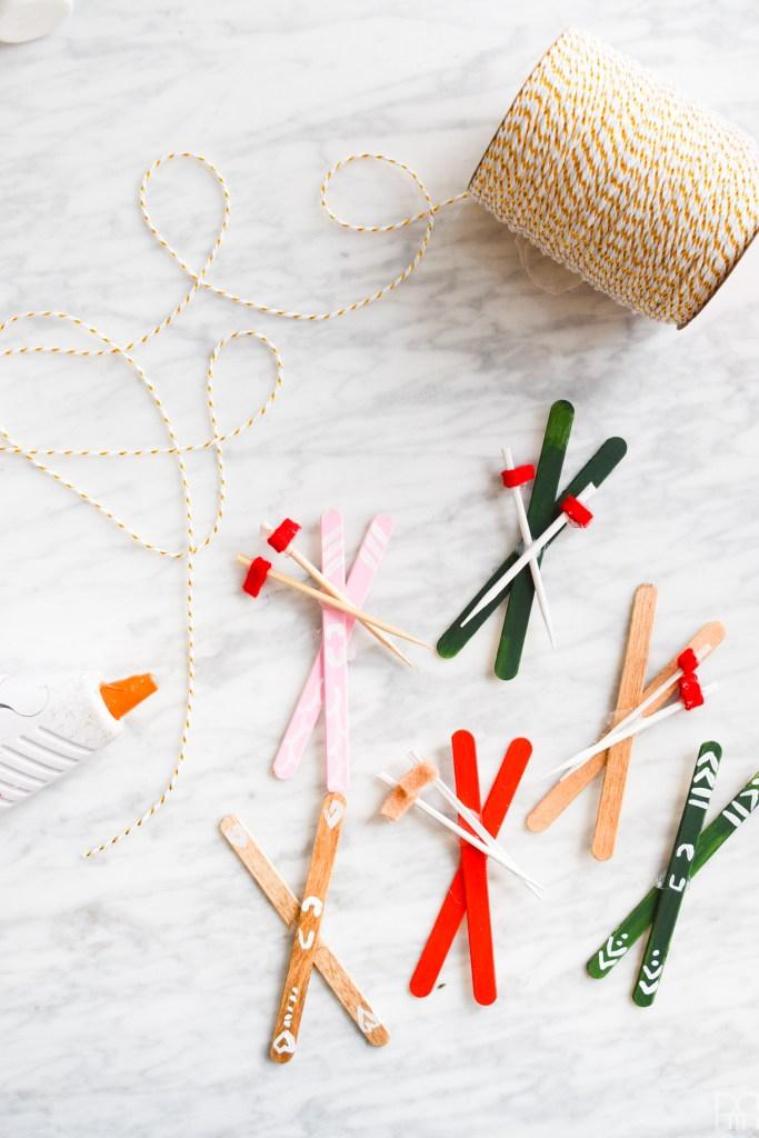 DIY Popsicle Skis