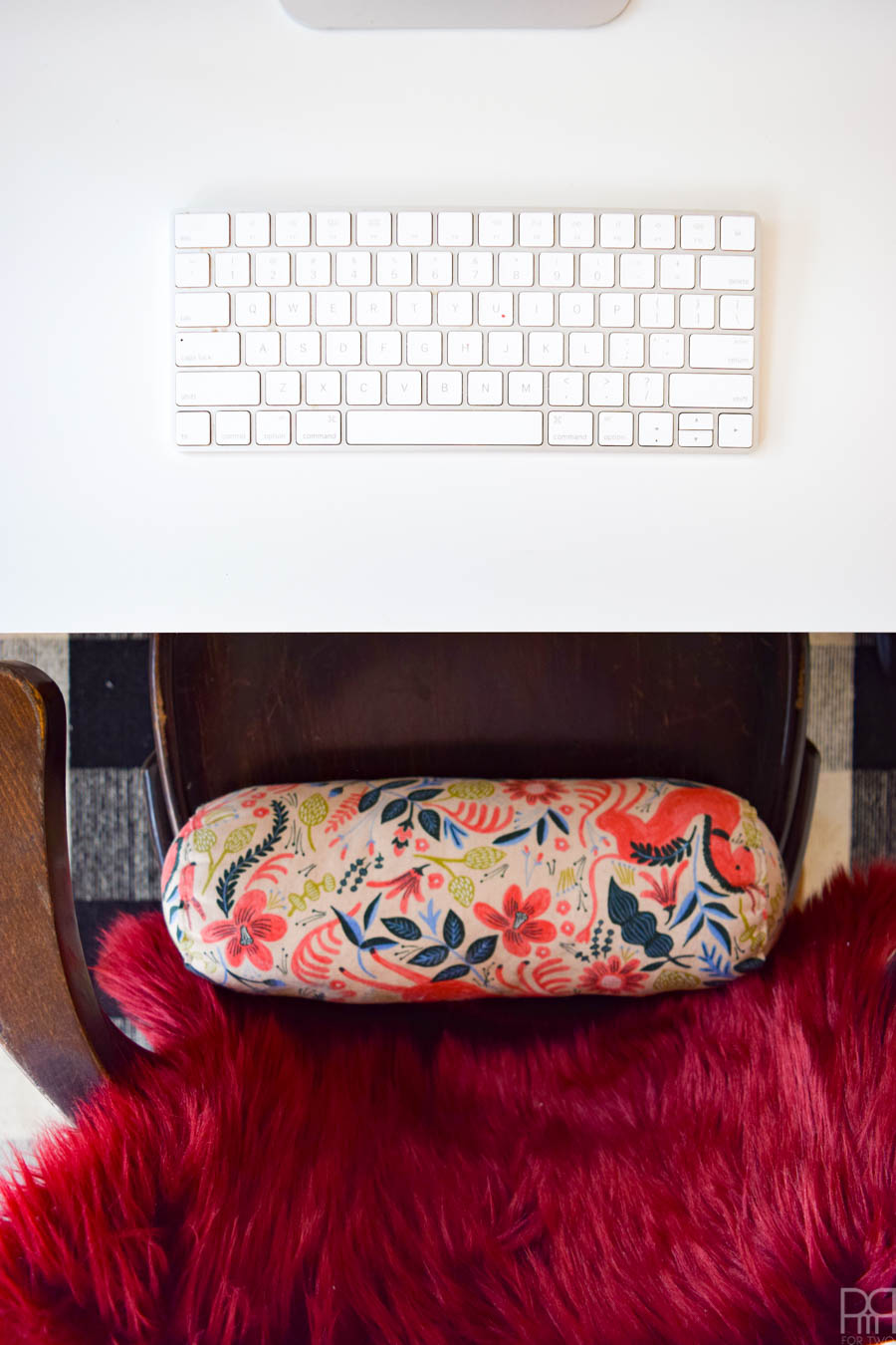 An IKEA RAST Desk Hack that creates a custom desk for just under 150$. Using Minwax's line of wood stains you can get a custom finish on the wood too. It's the perfect work desk and comes with lots of storage. #minwax #ikeahack #ikearast