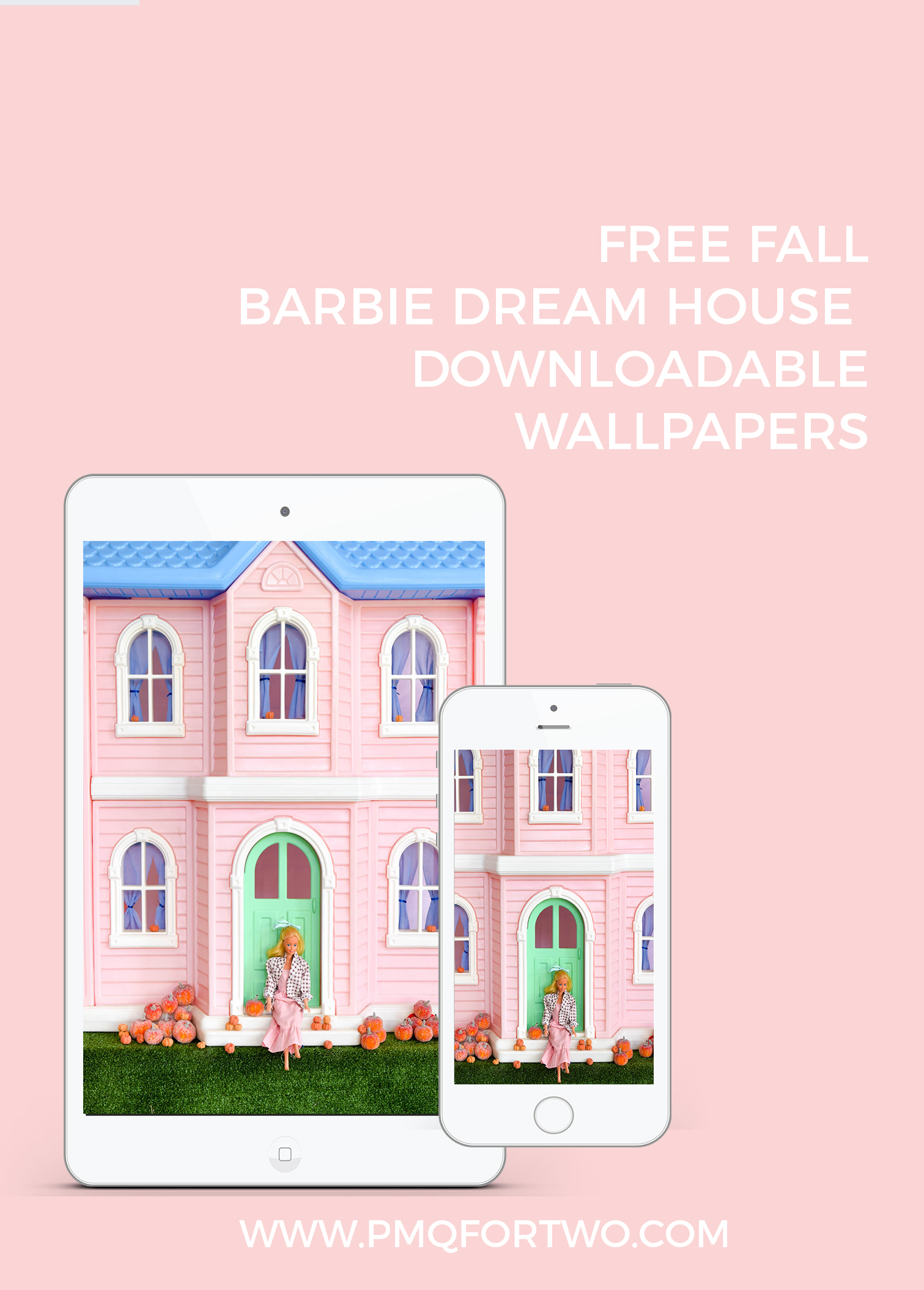 barbie on the dream house