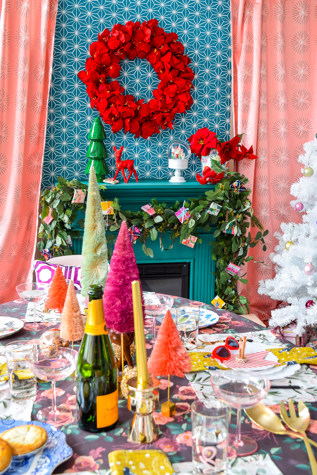 Christmas Dinner Party.A Luxurious Christmas Dinner Party Pmq For Two