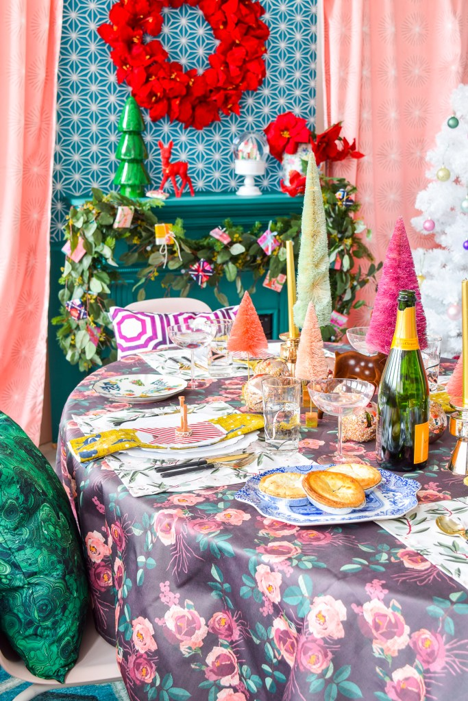 A Luxurious Christmas Dinner Party