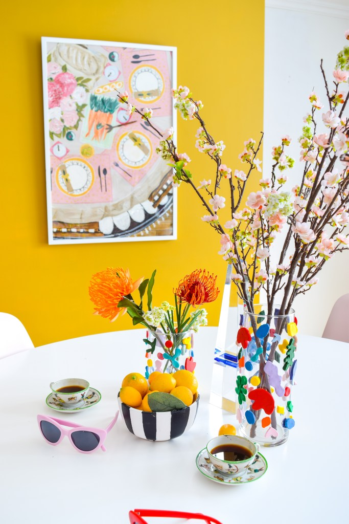 DIY Matisse Clay Vases
