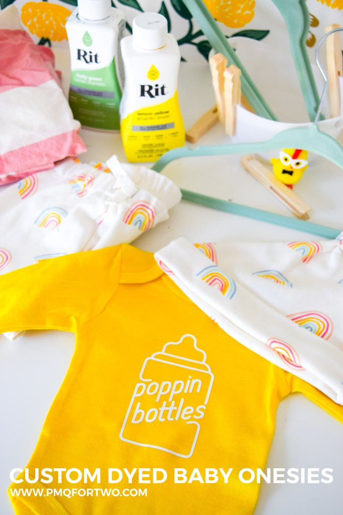 Custom Dyed Baby Onesies