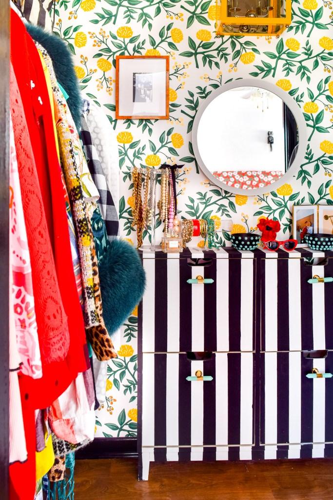 Floral Glam Master Closet