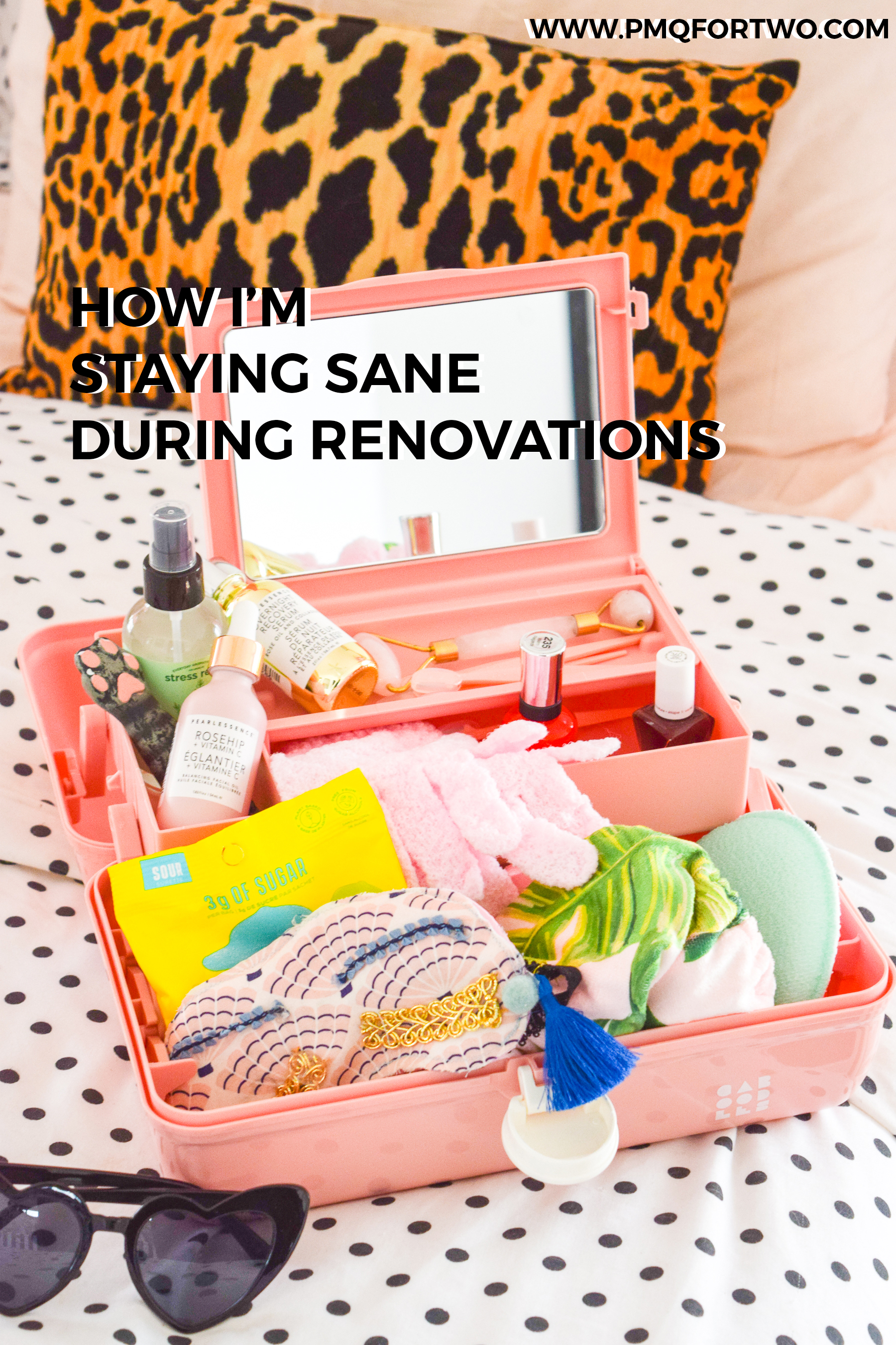 staying sane during renovations is easier said than done, but once you figure out what's working for you, it's easier than you'd think!