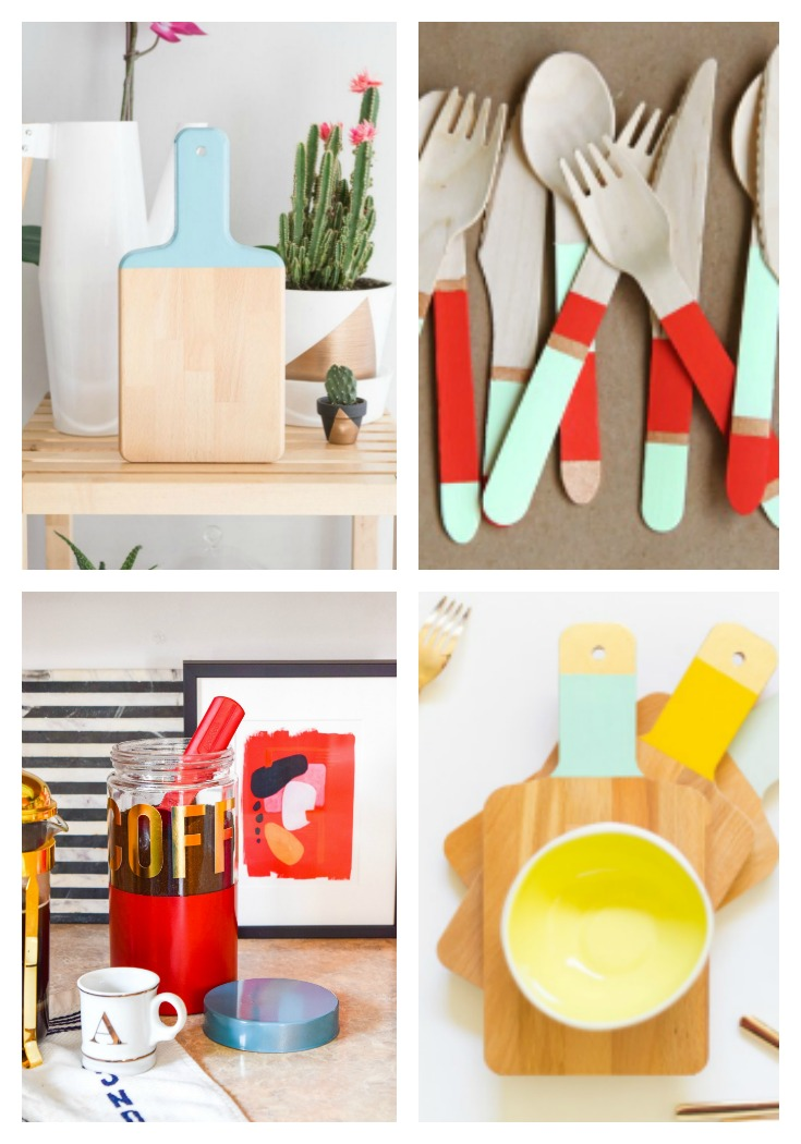 Color Blocking Kitchen DIY's PMQ For Two