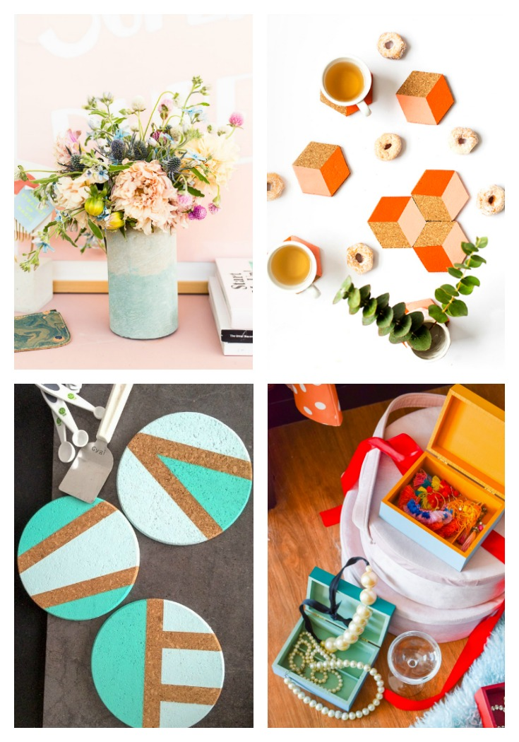 DIY Color Blocking Ideas For Home Decor PMQ For Two
