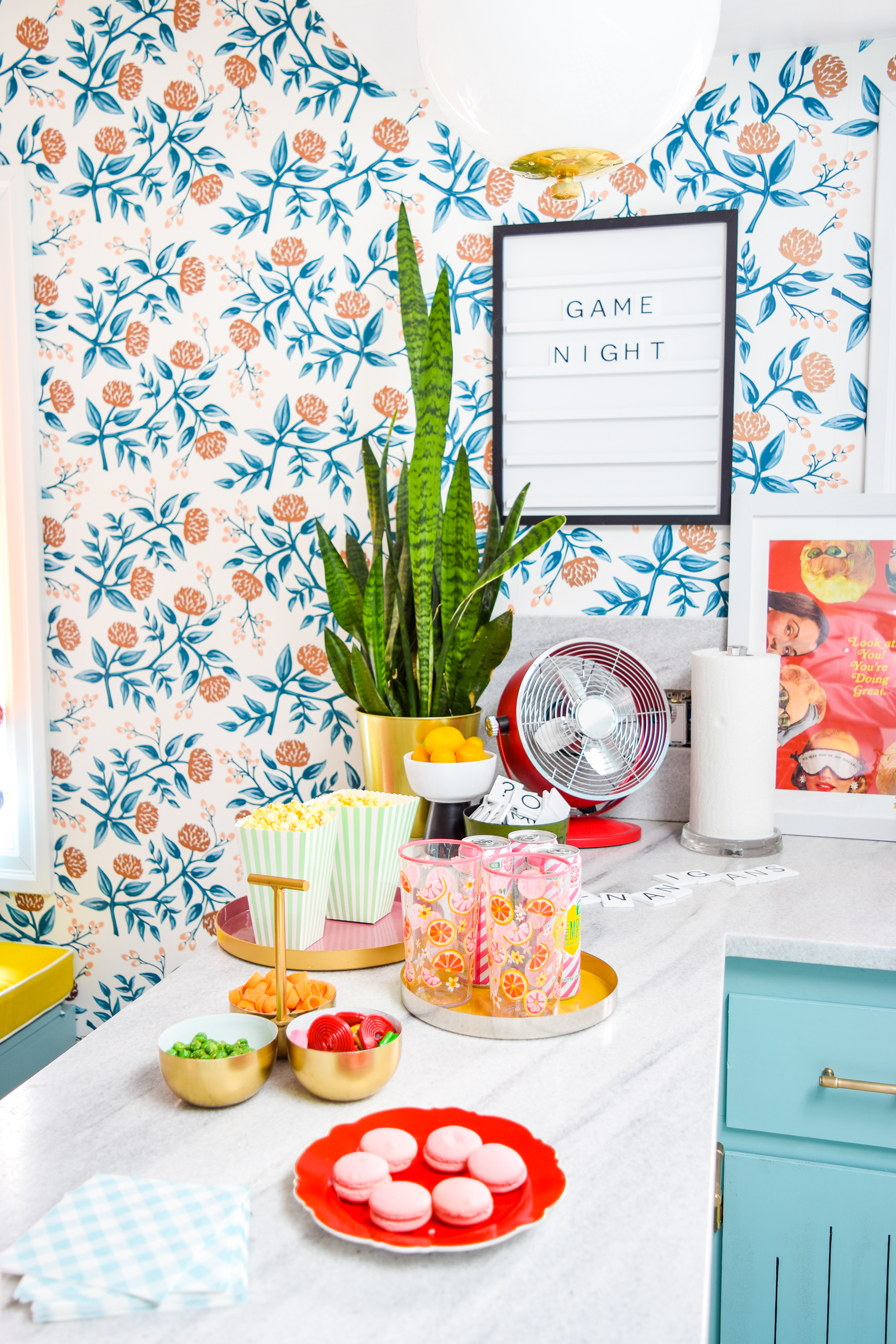 Summer is here! Look past your traditioanl BBQ and pool party, for game night ideas that you can put together in a pinch, with a trip to Homesense.