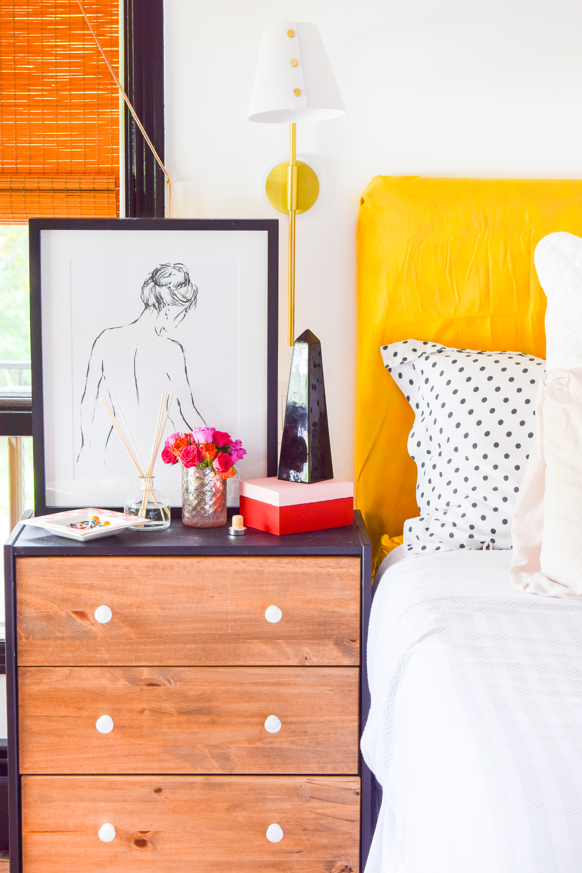 It's hot out y'all. These 4 Updates For Your Summer Bedroom are how you're gonna beat the heat, and it starts with a trip to Homesense!