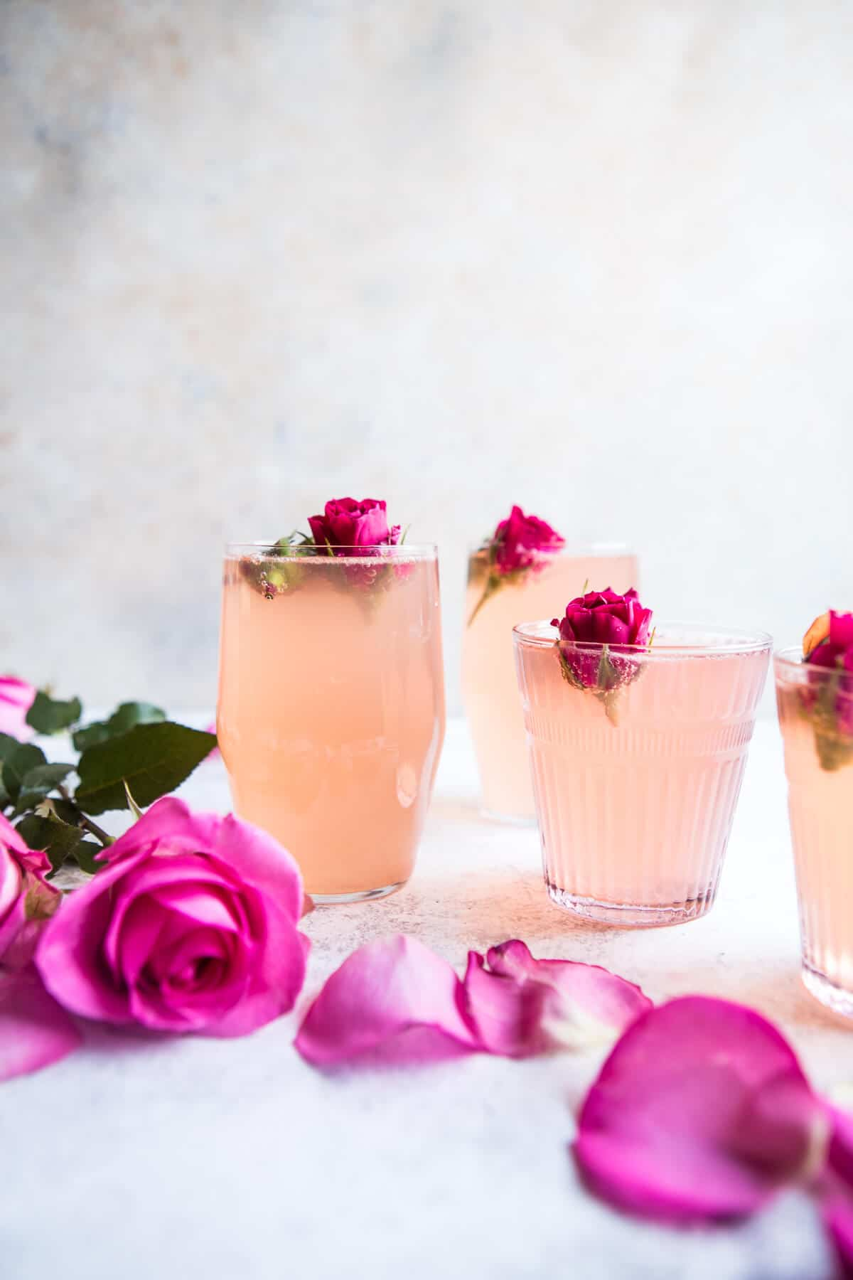 Rose Lemon Spritzer by Half Baked Harvest