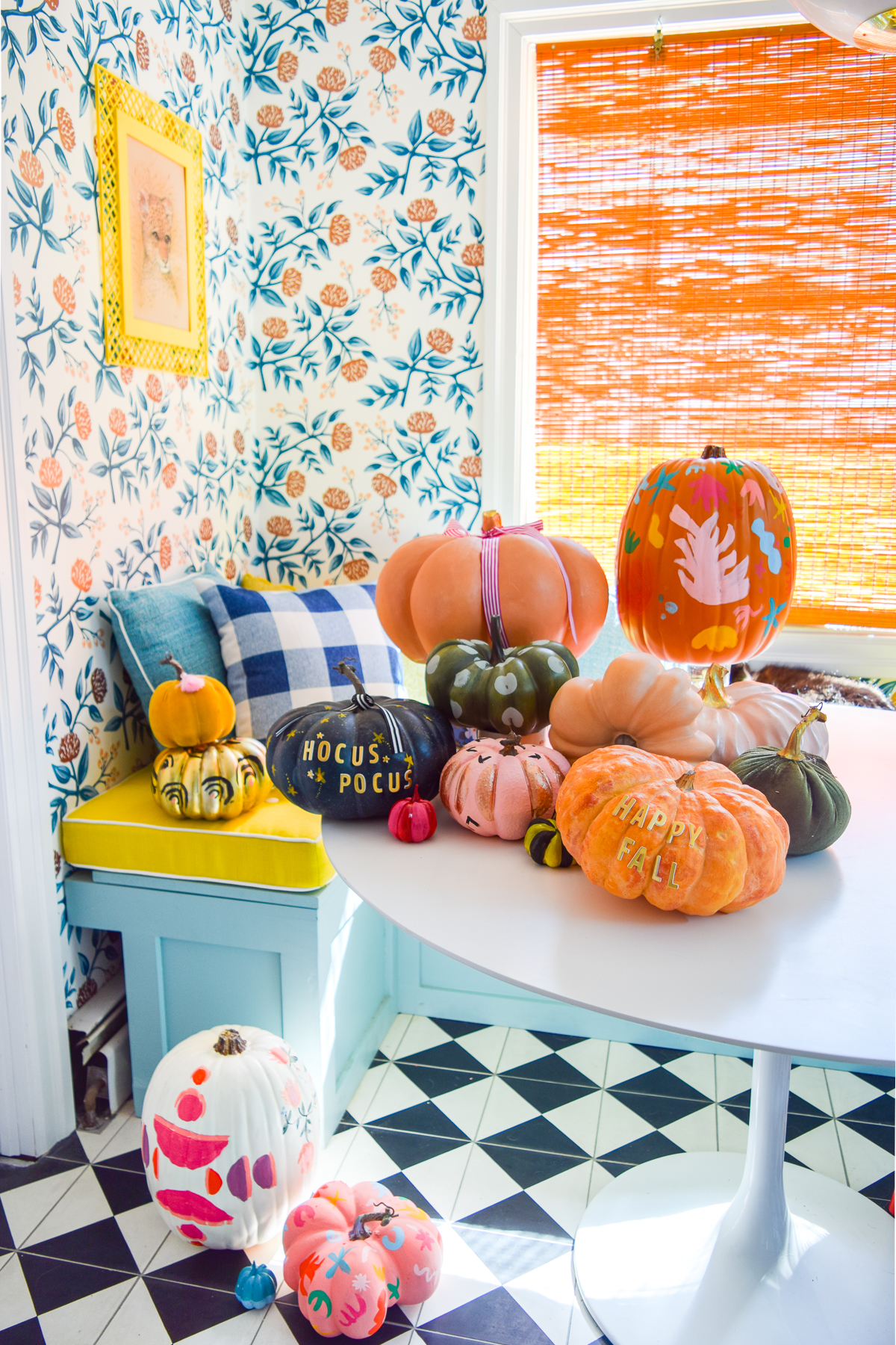 5 Colorful Pumpkin Painting Ideas \u2022 PMQ for two