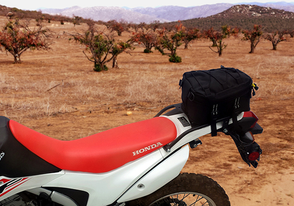 Drz Bag 400 Rear And Rack
