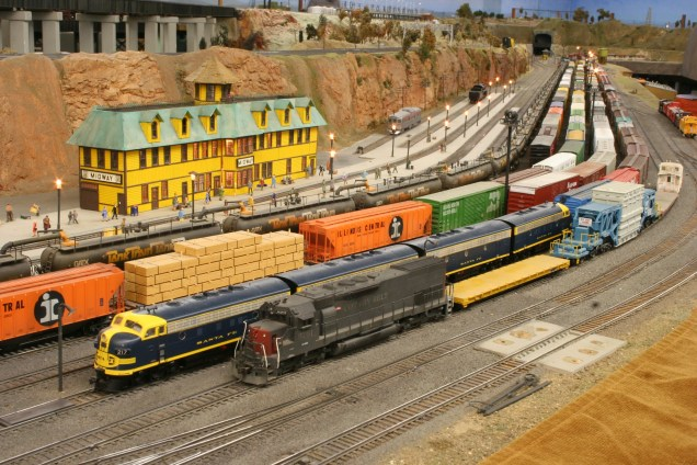 Midway Yard on the Sierra Pacific Lines