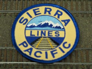 Sierra Pacific Lines patch