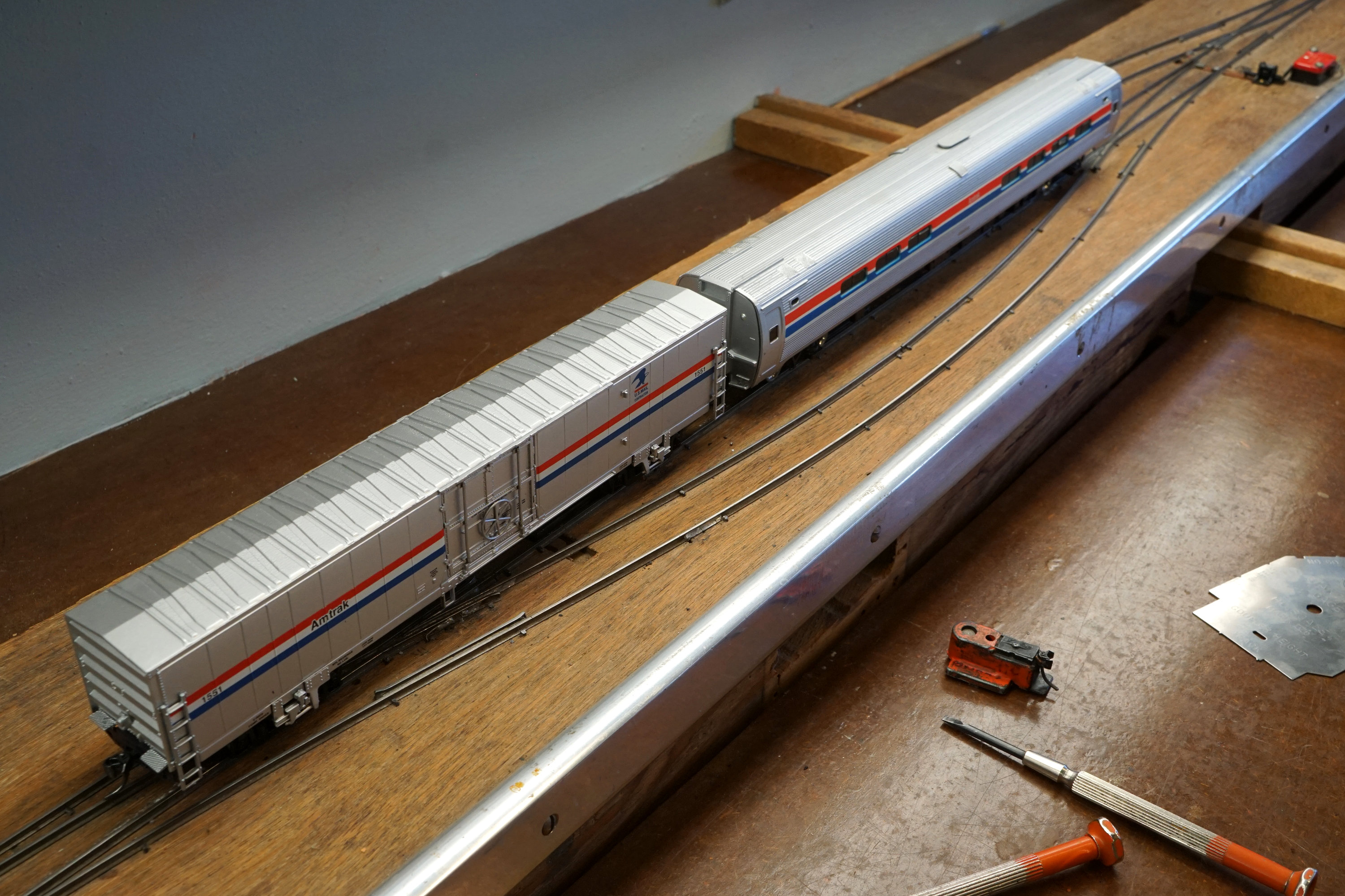 Recent Posts Ho Railroad Wiring Switches Aarons New Amquipment On The Pmrrc Test Track Which Features 6 And A 2 Grade