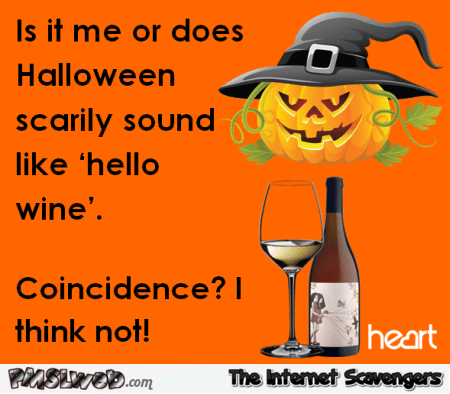 Image result for funny halloween & wine