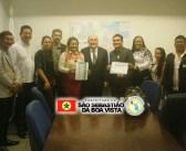 Prefeito Hilton Lima e autoridades do município participaram em Brasília da XXI Marcha em Defesa dos Municípios