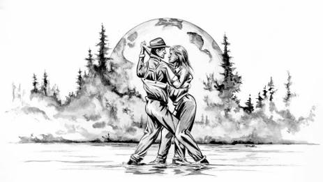 "David Ruimveld illustration for ""Water Songs"""
